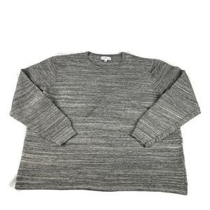 Calibrate Sweater Ribbed Space Dyed Pullover